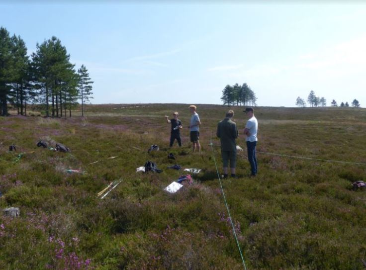 The Purbeck Wildlife Student Environment Research Team (SERT) was part of a research maze engaging families at the BU Festival of Learning. Charles King, the SERT student leader talked to visitors about what the team had discovered about the benefits of grazing for heathland wildlife.